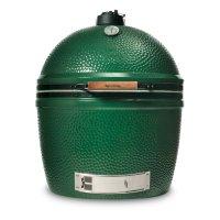 Гриль - коптильня xxl, диаметр: 74 см, материал: керамика, цвет: зеленый,