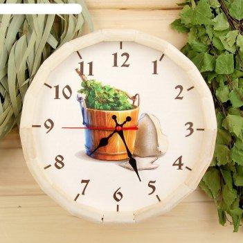 Часы банные бочонок добропаровъ. банные штучки