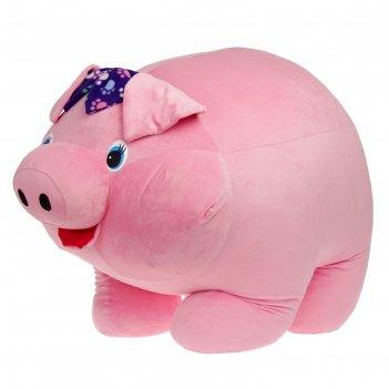 Мягкая игрушка свинья машка 100см ф930