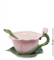 Cms-26/ 3 чайная пара гибискус (pavone)