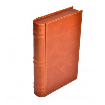 Хьюмидор lubinski дорожный «книга», коричневый