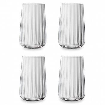 Набор из 4-х стаканов, объем: 510 мл, материал: хрустальное стекло, серия