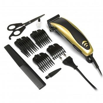 Машинка для стрижки волос luazon модель lst-5, 4 уровня стрижки, 15 вт, зо