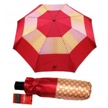 Зонт 23, полный автомат (атласный, ярко-розовый)