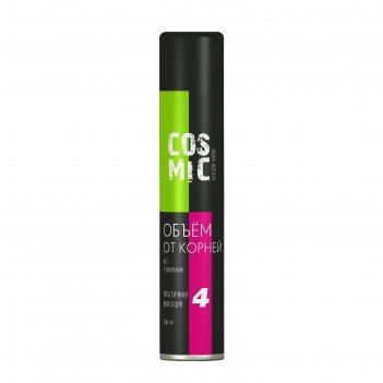 Лак для волос cosmic объем от корней 4 сильная фиксация, 360 мл