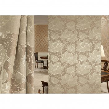 Ткань портьерная interio в рулоне, ширина 150 см, жаккард 94502