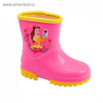 Сапоги детские пвх disney арт. drk00490-16-11-17 (розовый)