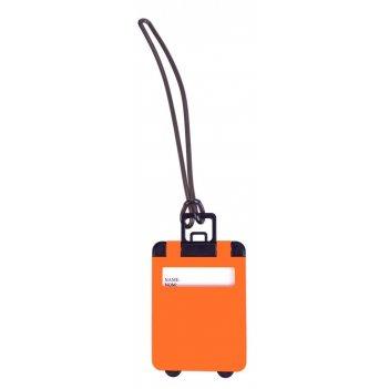 Бирка для багажа trolley, оранжевая