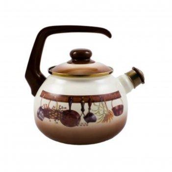 Чайник со свистком «кухня», 2,5 л