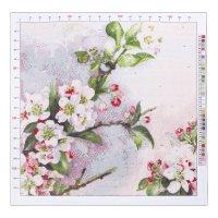 Канва для вышивания с рисунком «рауль дэ лонгпрэ. цветущая яблоня», 41 х 4