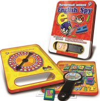 Магнитная игра mack&zack english spy