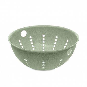 Дуршлаг organic, объем: 5 л, материал: полипропилен, цвет: зеленый, серия
