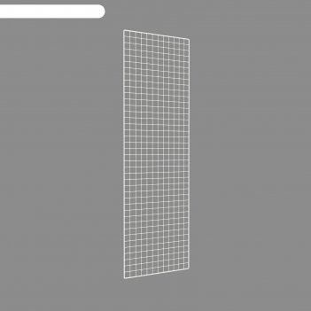 Сетка торговая 60*200, окантовка 8мм, пруток - 4мм, цвет белый