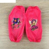 Набор детских нарукавников для творчества collorista цветочек 26х14 см-2 ш