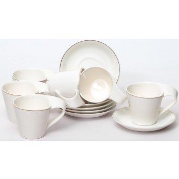 Набор кофейный грация «алама» 90 мл, 12 предметов