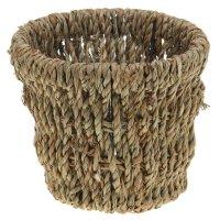 Кашпо плетеное конус 15*15*12 см