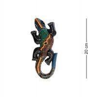 20-036 панно настенное геккон (албезия, о.бали) 20см