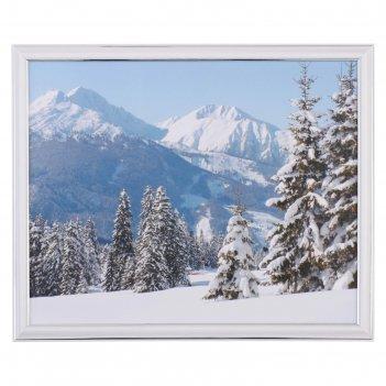Картина зимний пейзаж 39х30 см