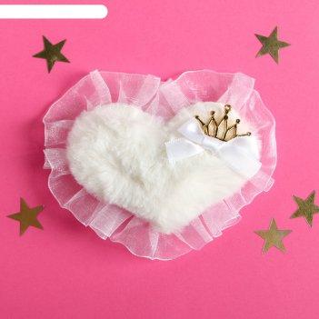 Резинка для волос сердце