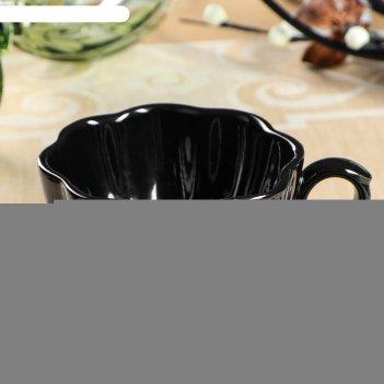 Чашка кофейная black, 180мл