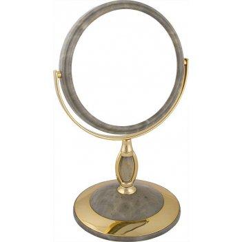 Зеркало* b6806 nmar3/g настольное 2-стор. 5-кр.ув.15 см. (12в кор.)