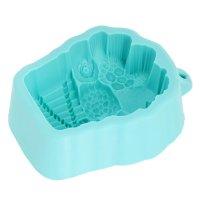 Силиконовая форма для мыла кекс с фруктами