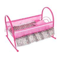 Кроватка-качалка для кукол 5, цвета микс