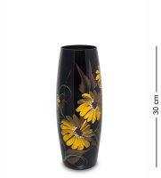 Vz-635 ваза стеклянная лето h-300