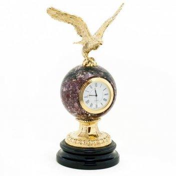Настольные часы орел камень креноид
