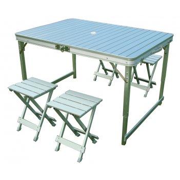 Складной стол со стульями canadian сamper cc-ta838