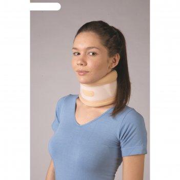 Воротник ортопедический для полужесткой фиксации, размер: s (25-33)*10 см