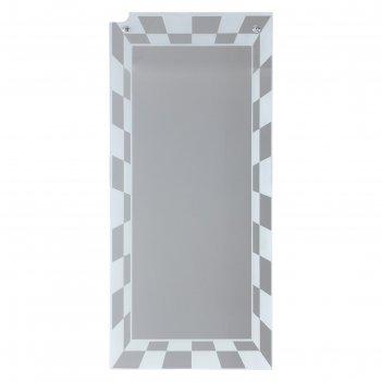 Зеркало, настенное, с пескоструйной графикой, 130х60 см
