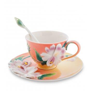 Fm-63/ 3 чайная пара сальпиглоссис (pavone)