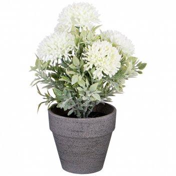 Изделие декоративное цветы диаметр=10 см. высота=25 см. без упаковки (мал=