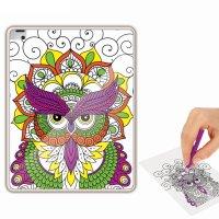 Раскраска-чехол для планшета сказочный сад