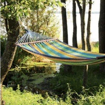 Гамак плетеный mexico синий для хобби и пикника