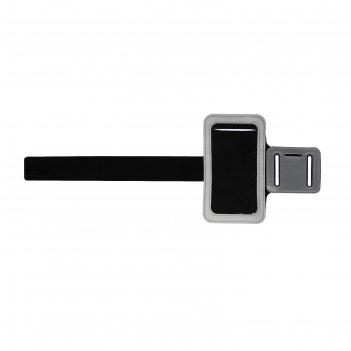 Чехол для сотового телефона на руку luazon, 14*7,5 см, выход для наушников