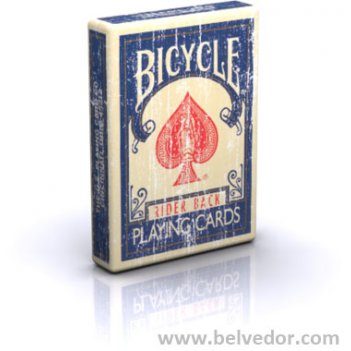 Bicycle faded deck