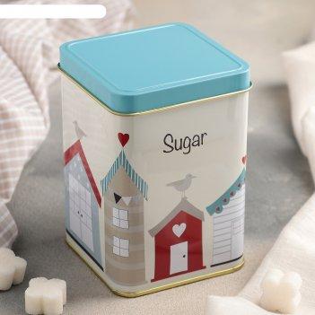 Банка для сыпучих продуктов 9x13 см сахар