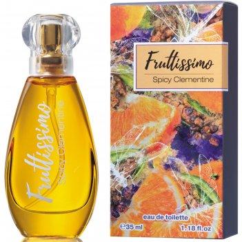 Туалетная вода женская brocard parfums fruttissimo «пряный клементин», 35