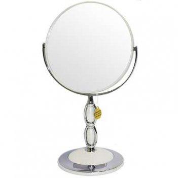 Зеркало b7 8066 per/c wpearl наст. кругл. 2-стор. 5-кр.ув.18