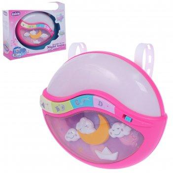 Музыкальная игрушка-ночник «засыпайка», световой и звуковой эффект