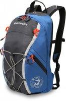 Рюкзак wenger цв. серый/синий, полиэстер 900d