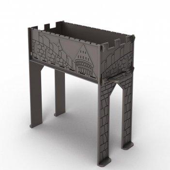 Чугунный мангал «замок» (разборный)