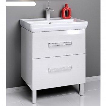 Комплект мебели aqwella neo 70 на ножках, тумба с раковиной дрея q 70, neo
