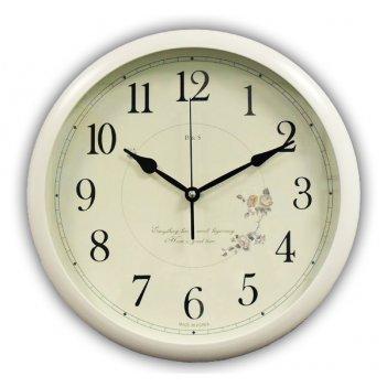 Часы настенные для дома b&s hr-371 w