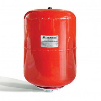 Расширительный бак джилекс, для систем отопления, металлический фланец, 24