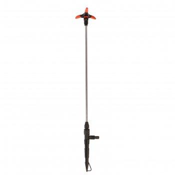 Распылитель 3-лепестковый, удлинённый, 60 см, штуцер под шланги 1/2-3/4, м