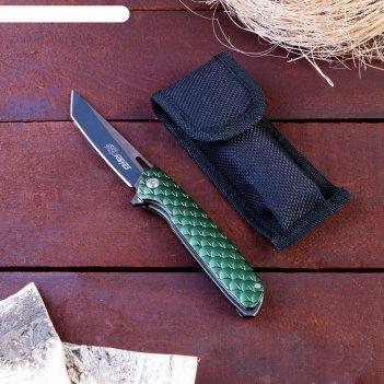 Нож перочинный складной дракон, лезвие 9 см, с фиксатором