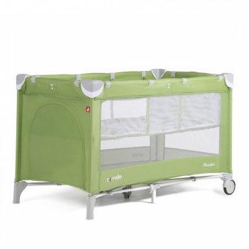 Манеж детский carrello crl-9201/1 piccolo + sunny green